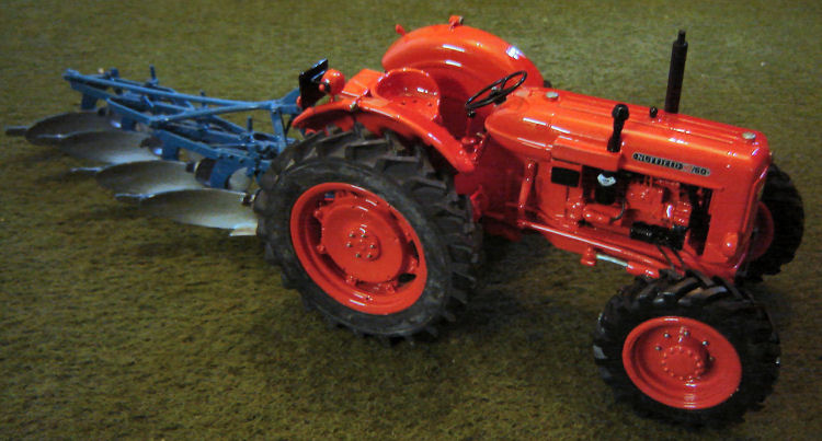 RJN Classic Tractors Nuffield 10/60 4wd Selene Type Axle Model Tractor